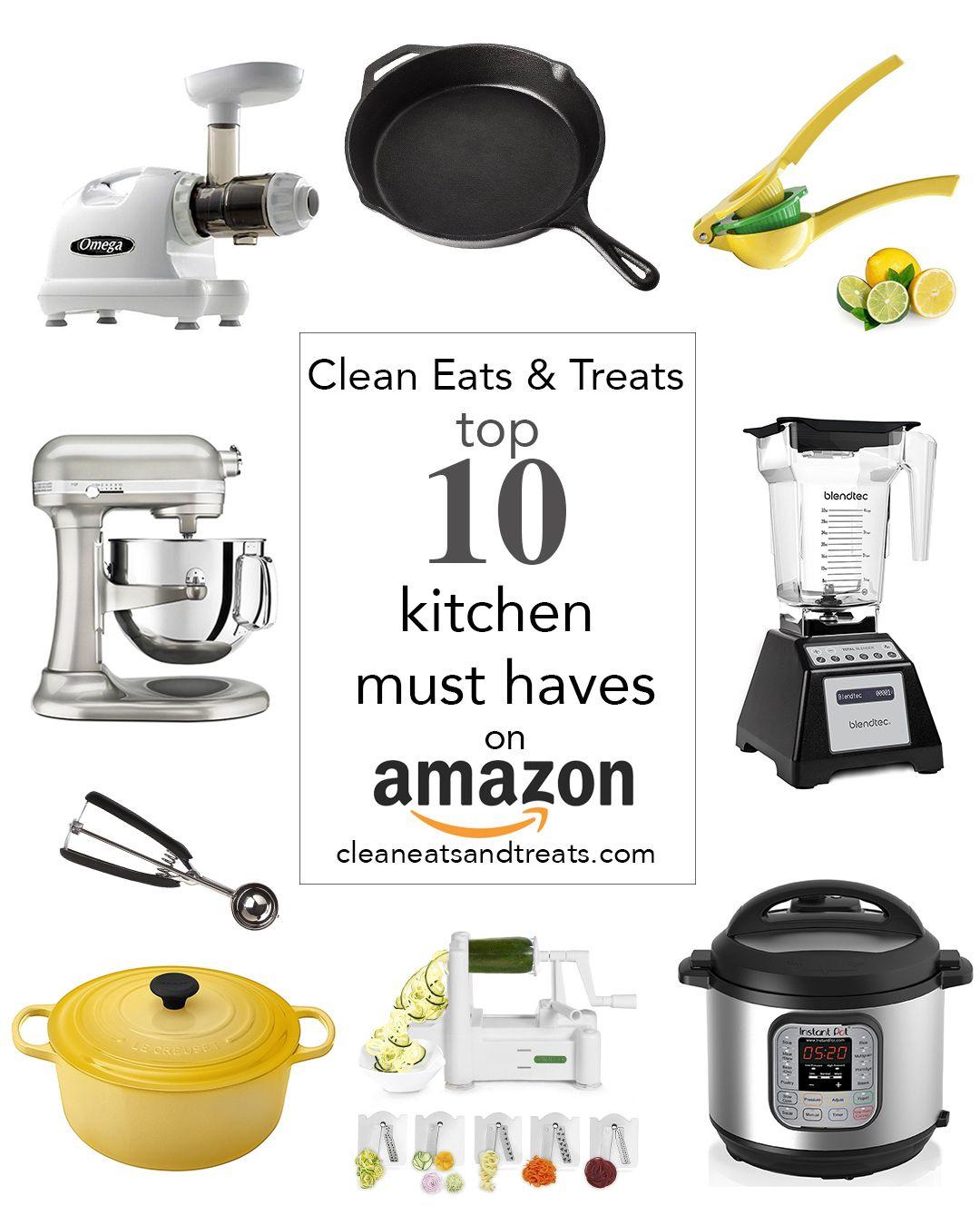 My Top Ten Kitchen Must Haves on Amazon Kitchen must