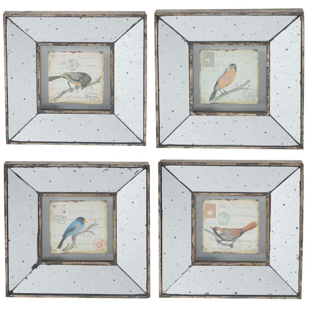 A B Home Simeon 12 In X 12 In Decorative Square Frames 4 Pack 32838 Framed Art Sets Wall Art Sets Wall Decor Set