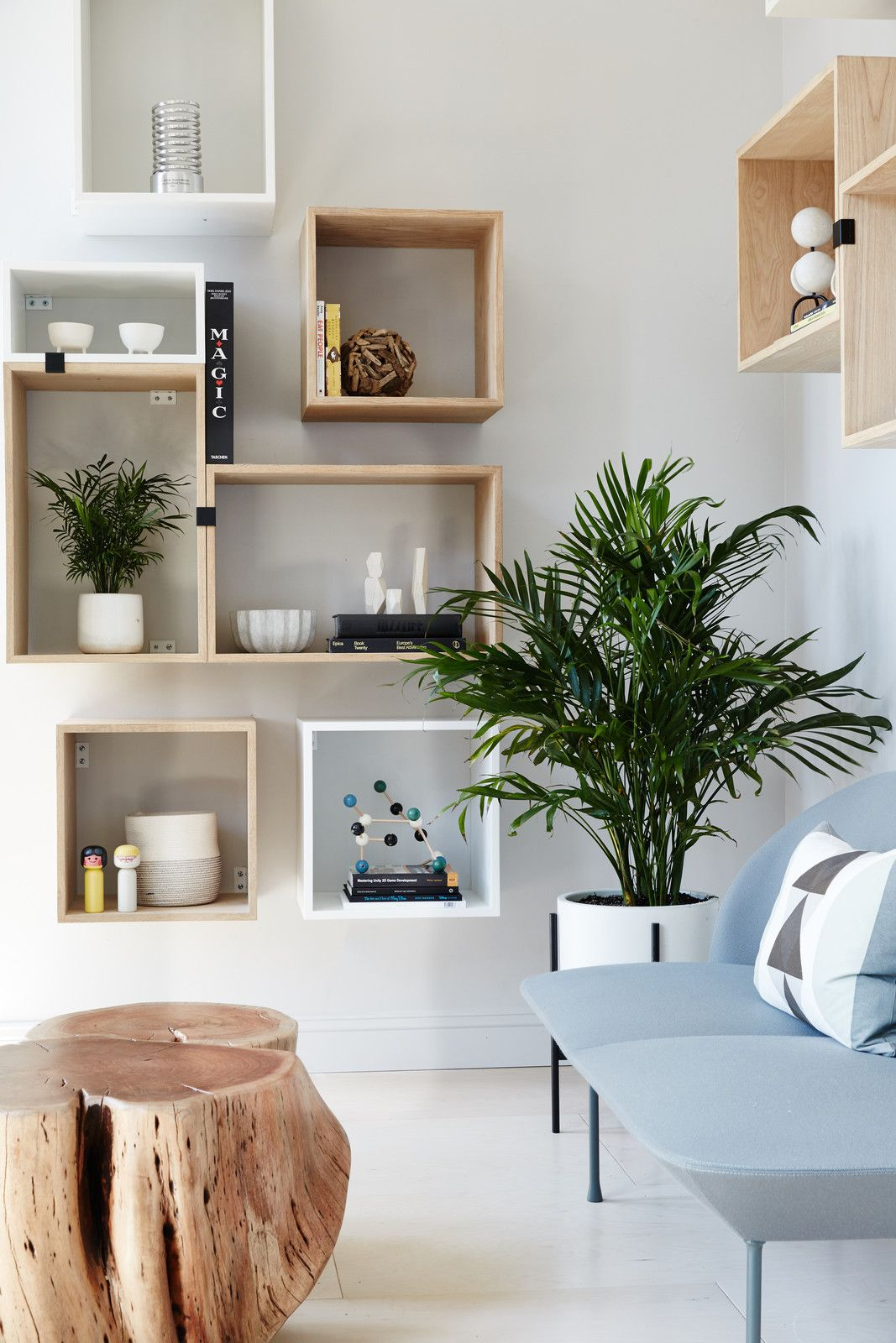 Muuto Stacked Shelving creates a flexible and