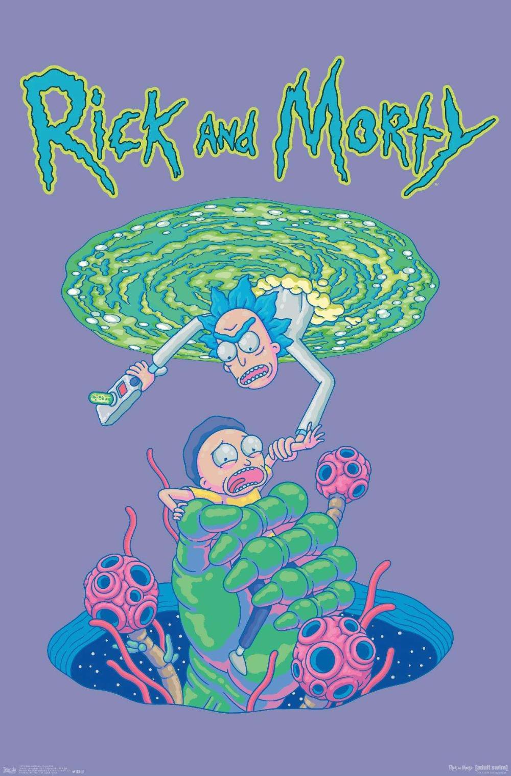 Rick And Morty Portal Fall Rick And Morty Poster Rick And Morty Drawing Rick And Morty Tattoo