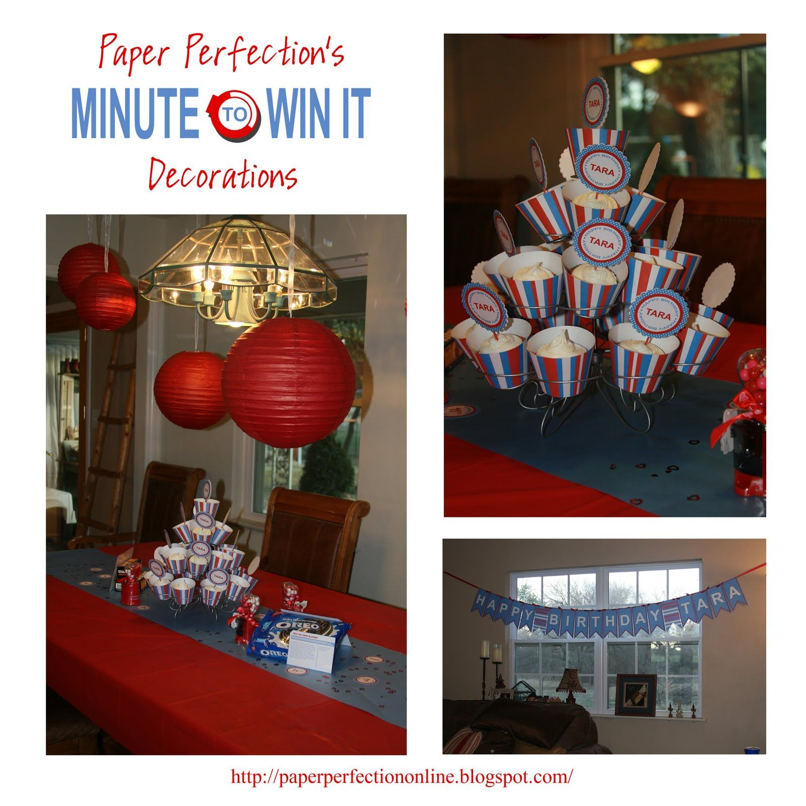 Minute To Win It Party Decor