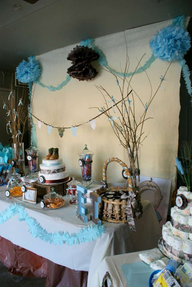 Eli   The Little Hunter Baby Shower Party Ideas