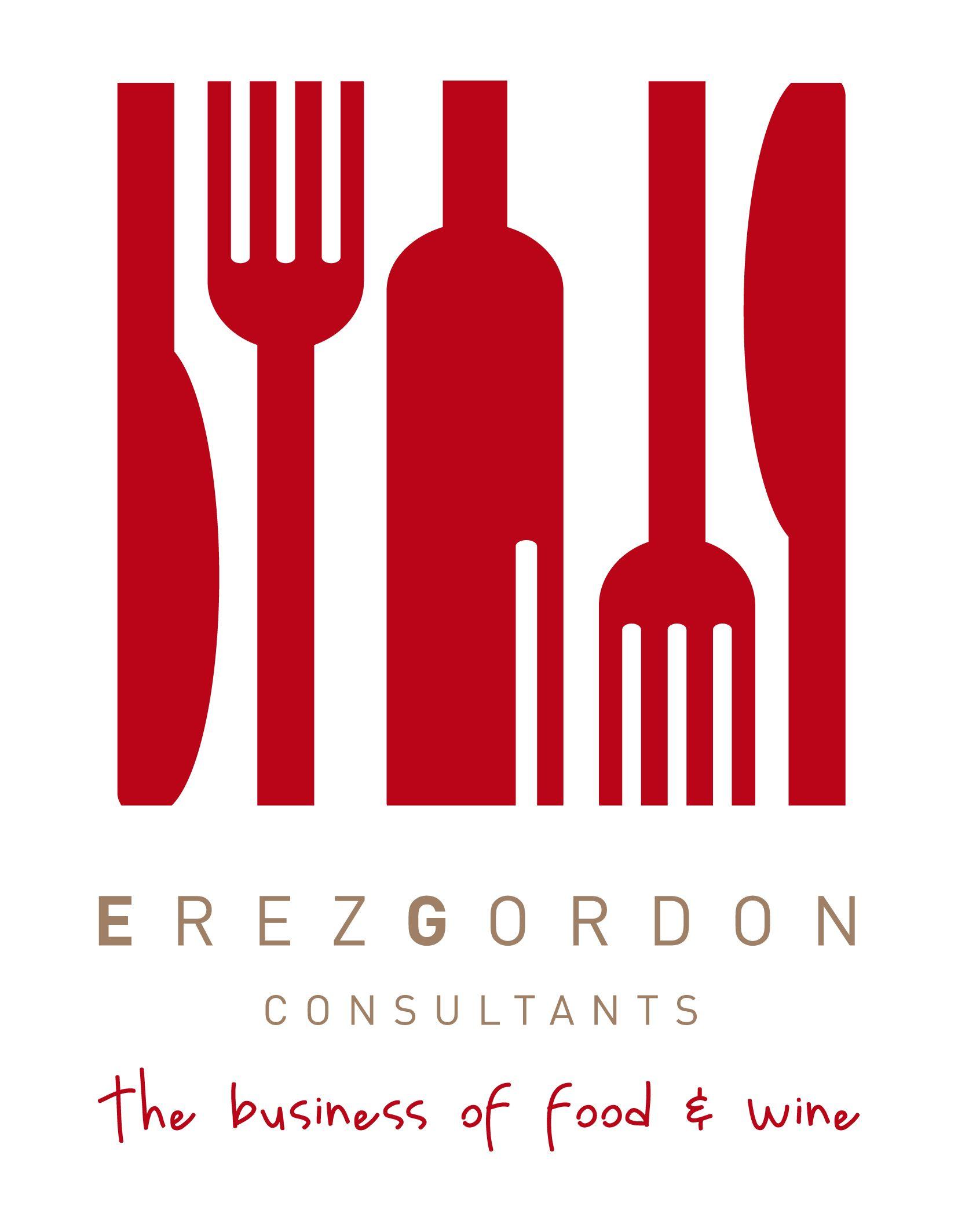 Erez Gordon Logo Fa Jpg 1 654 2 126 Pixels Food Consulting Logo Food Wine Recipes