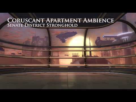 267 Coruscant Skyrise Apartment Star Wars Background Ambience Youtube Star Wars Background Star Wars Ambience