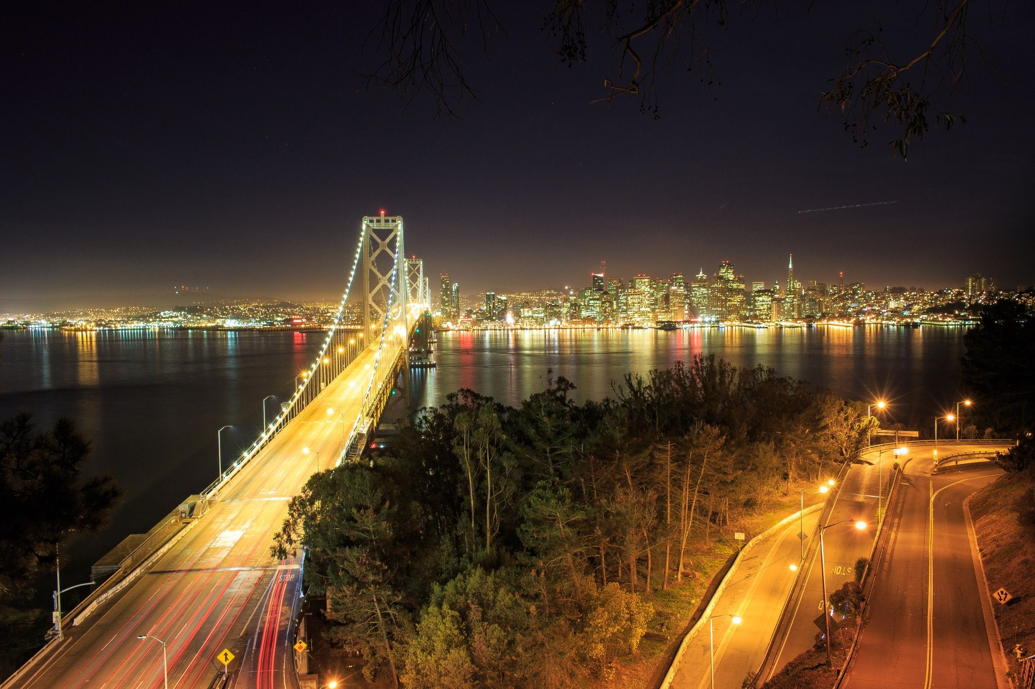 San Francisco from Treasure Island by Benjamin