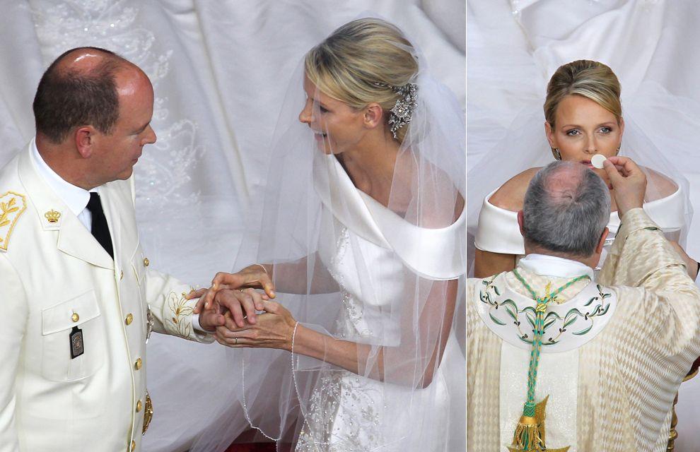 Monaco royal weddings: Prince Albert II and Princess Charlene ...
