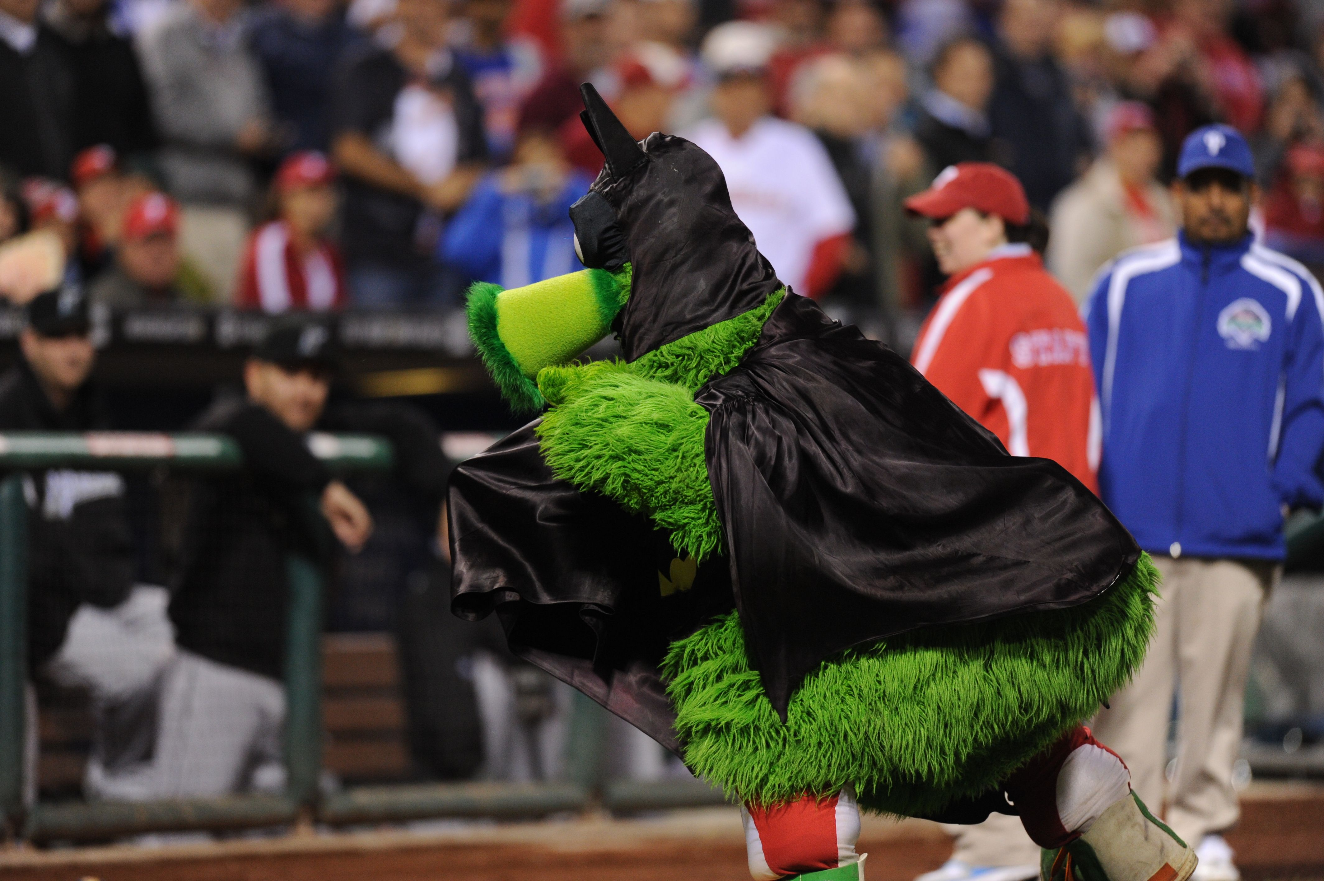 Happy Halloween! The Phanatic in just one of his many