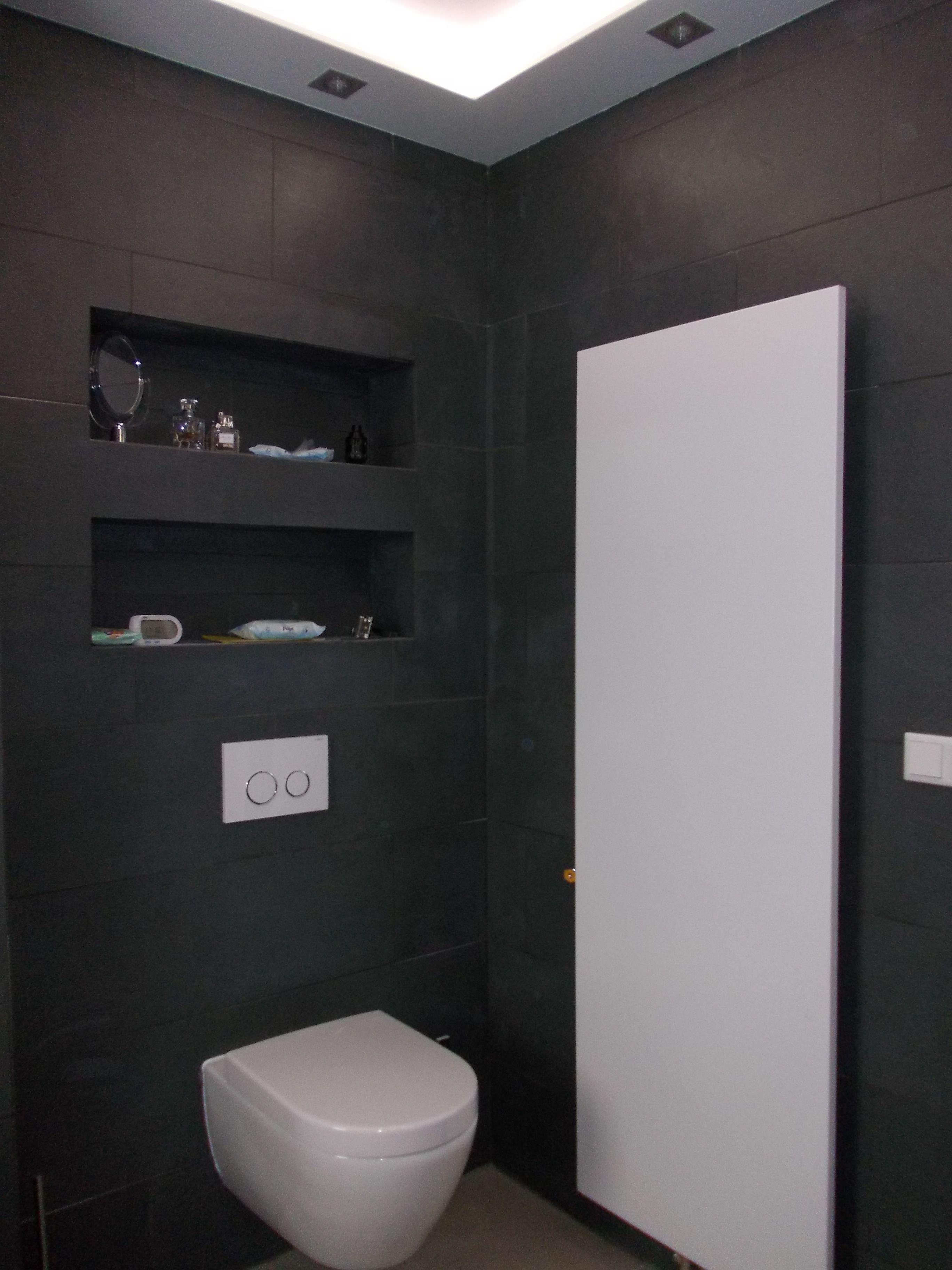 Nisjes in het toilet - Interieur blog | Pinterest - Badkamer, Wc en ...