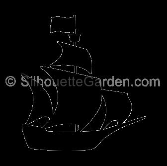 Pirate Ship Silhouette Ship Silhouette Boat Silhouette Silhouette Clip Art
