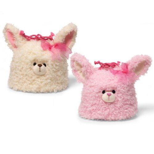 Gund - Bunny Drawstring Purse - Pink *** Want to know more, click on the image.