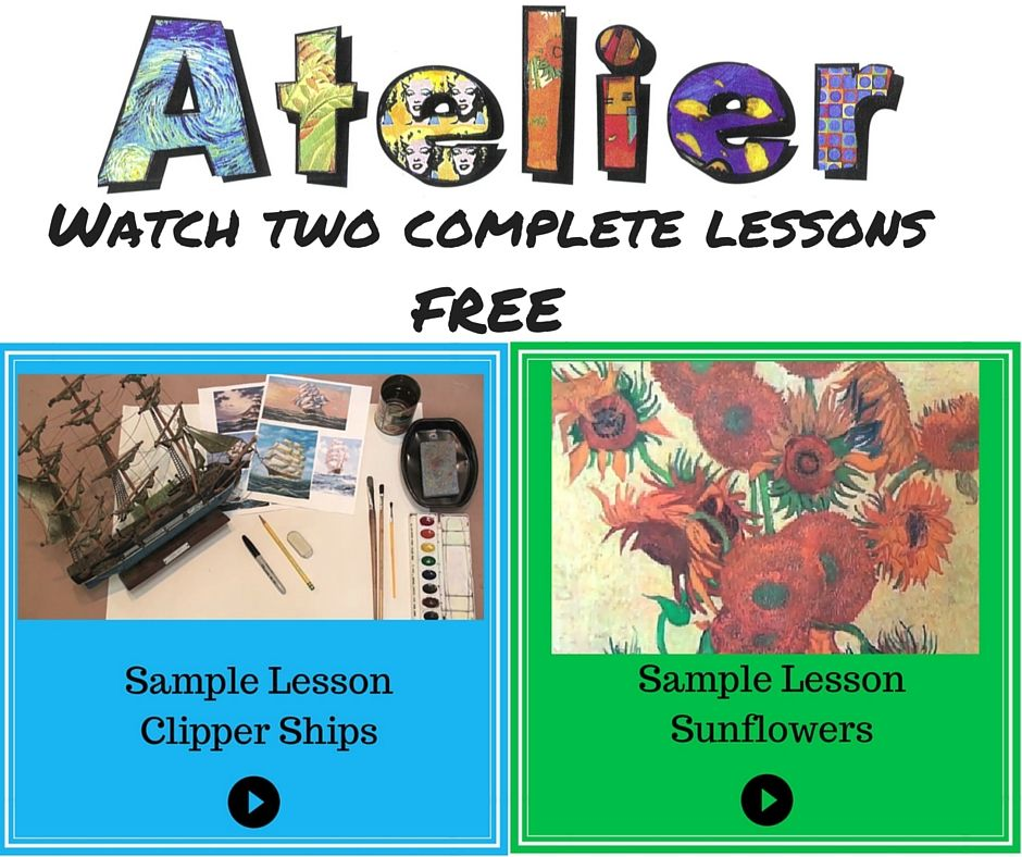 Would you like to view 2 free Art Lessons? Go to www ...
