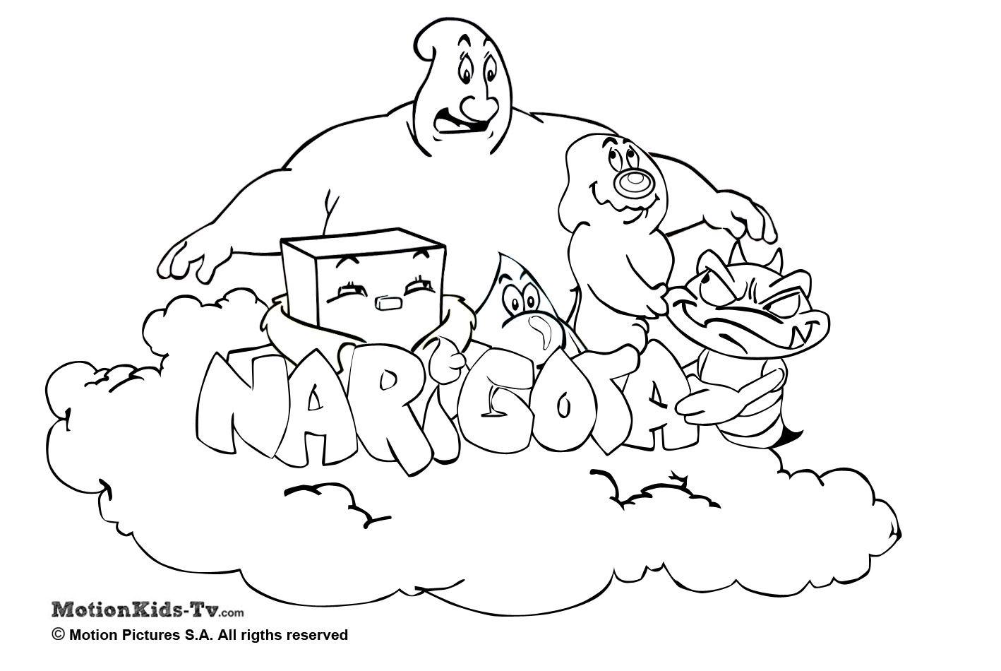 Caricaturas De Niños Para Colorear: Pintas Narigota, Descargar Dibujos Colorear Dibujos
