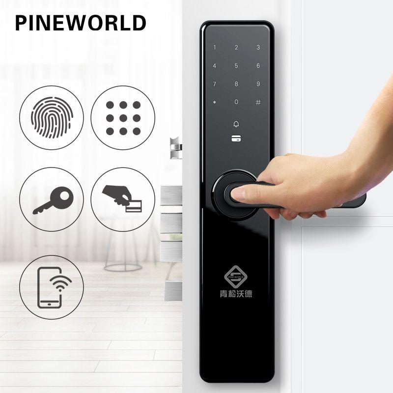PINEWORLD Smart Door Fingerprint Lock,Security Home