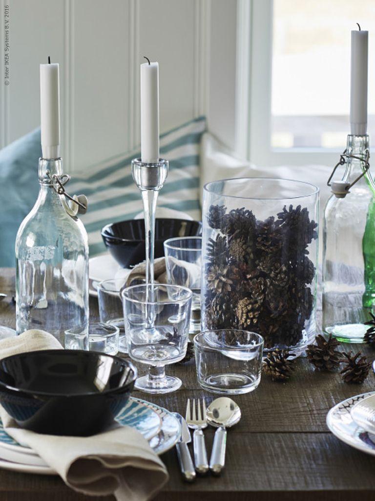 Det ska vara enkelt att skapa en inbjudande middag för många. Och det enkla kan många gånger vara det allra vackraste.