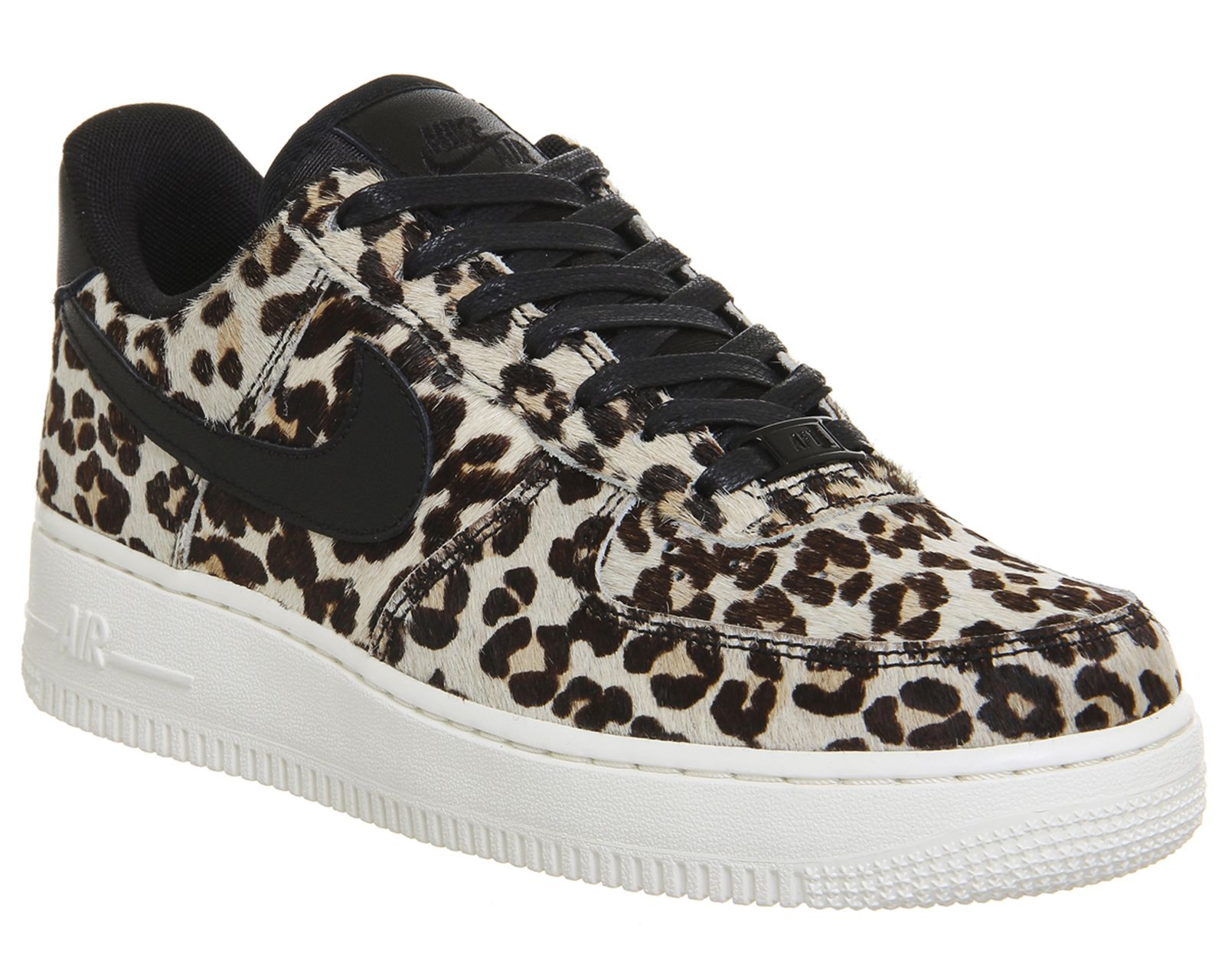 Nike Air Force 1 Lo Leopard Black Sail Trainer Sale UK