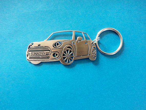 Mini Cooper Keychain Car Keychain Keychain For Mini Cooper Custom