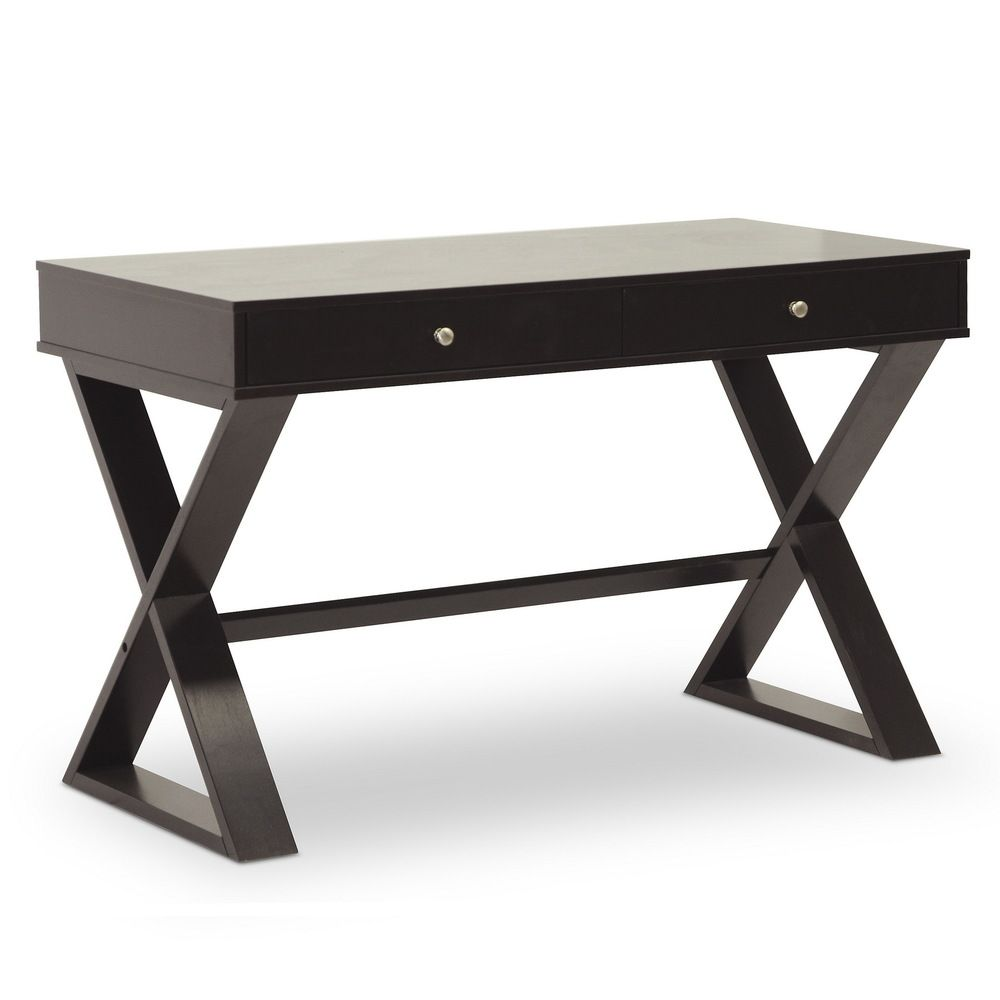 baxton studio ottwell dark brown modern desk overstock shopping rh za pinterest com