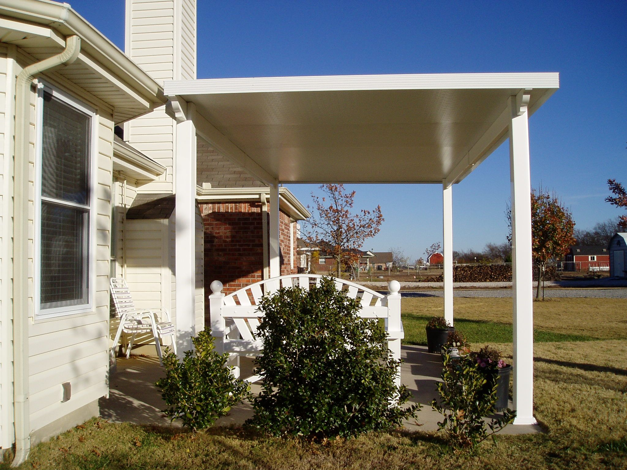 Insulated Aluminum Patio Covers Will Keep You Out Of The