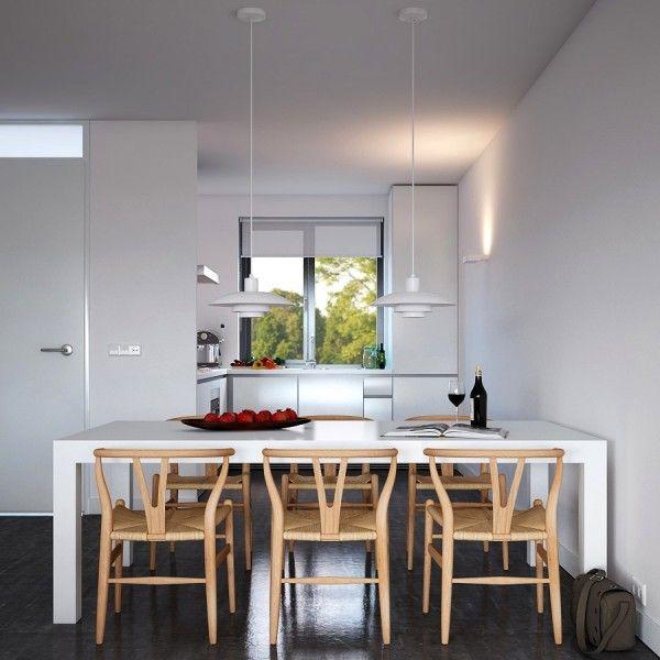 Visualizations modern apartments inspiring industrial lighting classic colors interior design idea pendant lamp