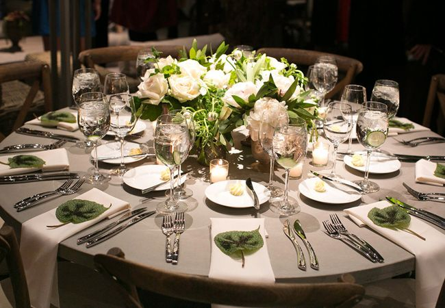 17 Steal-Worthy Wedding Ideas From Engage13! Green centerpieces