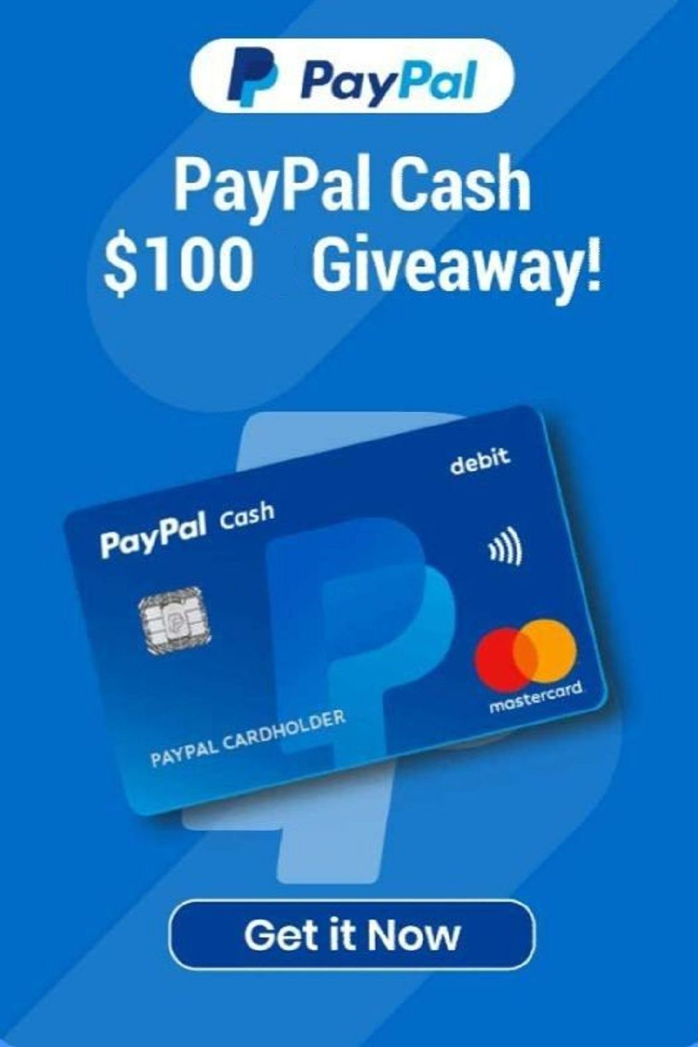 Get 100 Free Paypal Gift Card