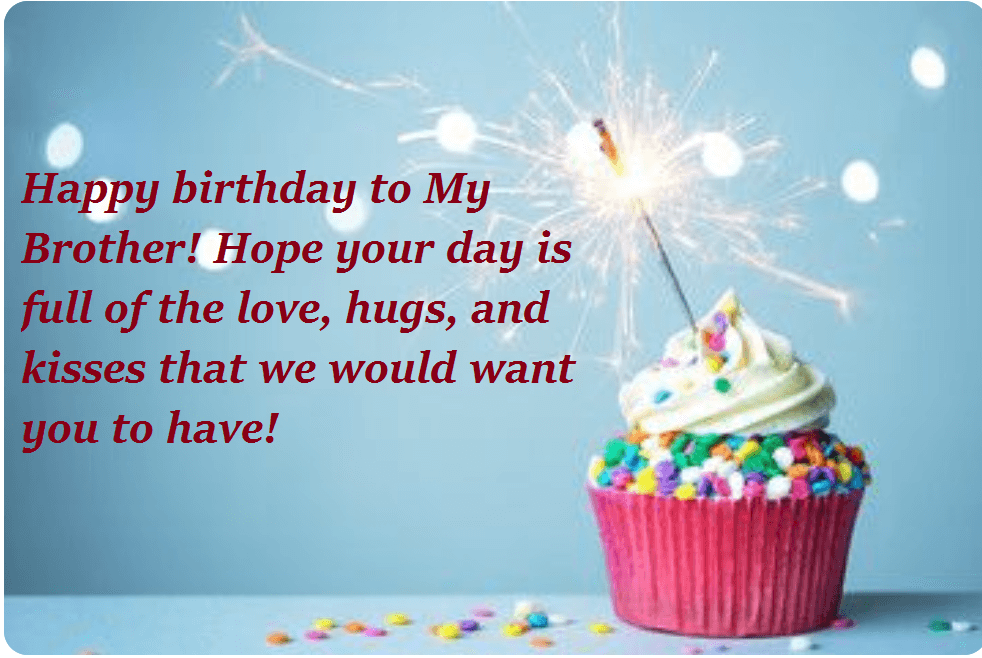 Birthday Cake Wishes Messages For Bro Birthday Wishes Pinterest