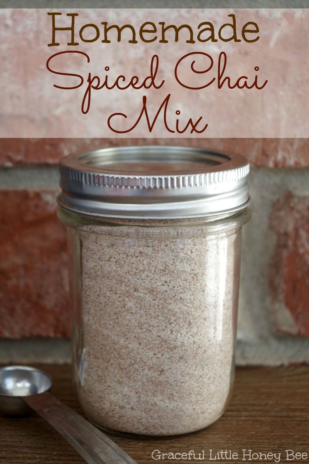 Homemade Spiced Chai Seasoning Mix - Graceful Little Honey Bee