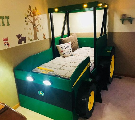 Tractor Bed PLANS Pdf Format Create A Farm Themed Bedroom Build Stunning Tractor Themed Bedroom