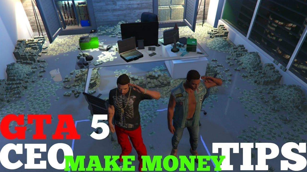 gta 5 online ceo dlc tips how make money faster office buy rh pinterest com
