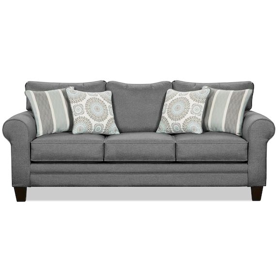 tula fabric sofa steel in 2019 vision fabric sofa fabric sofa rh pinterest com