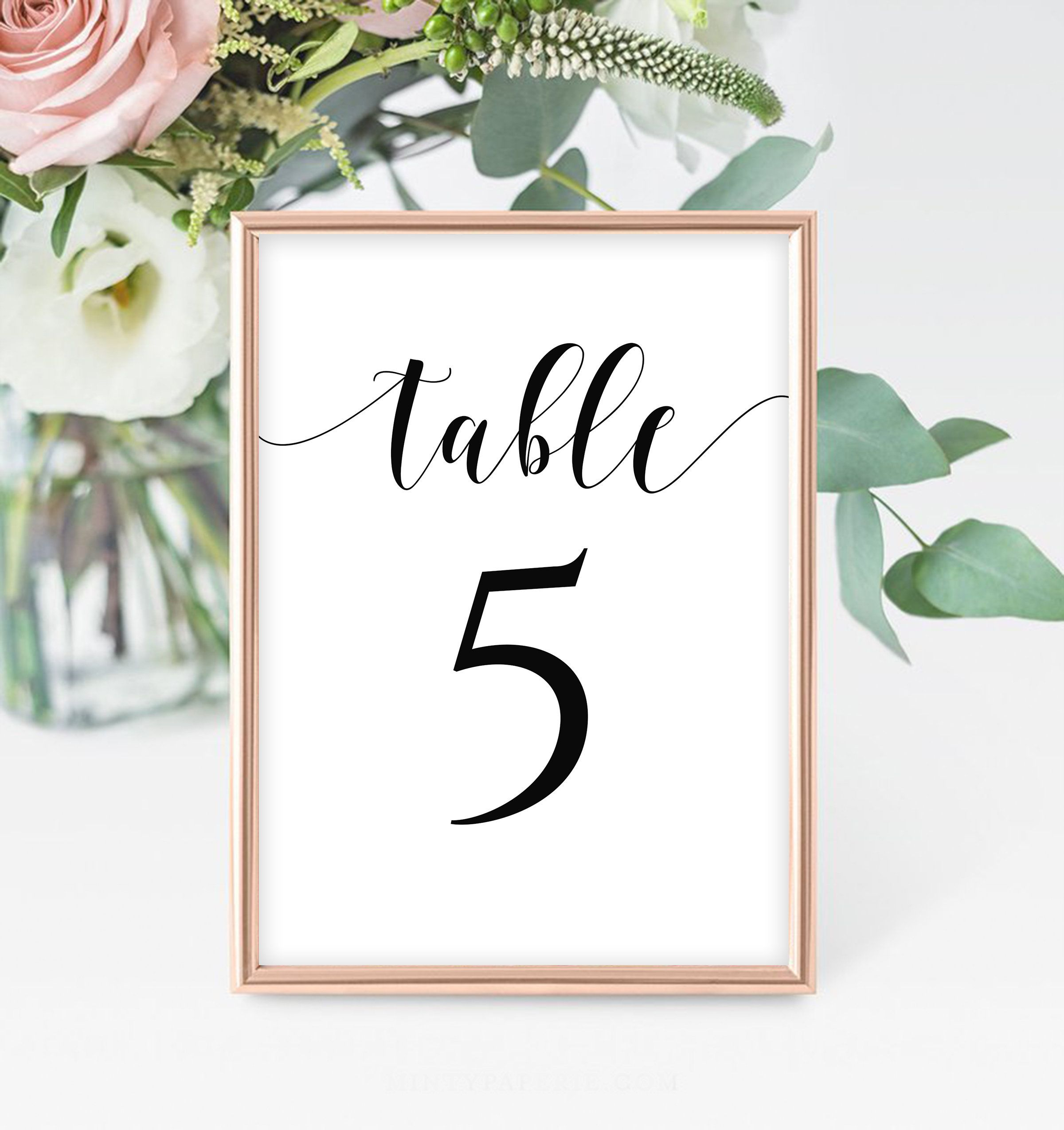 Table Numbers Template Printable Numbers Table Number Etsy Wedding Table Numbers Printable Wedding Table Numbers Template Number Template Printable
