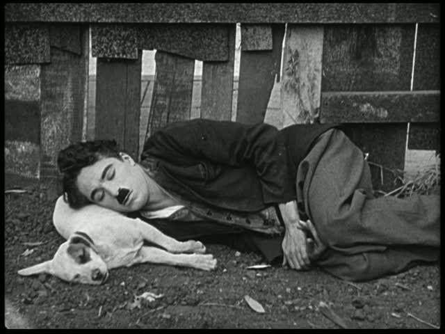 Facebook - Arte Matriz Vida de perro, 1918 por Chaplin