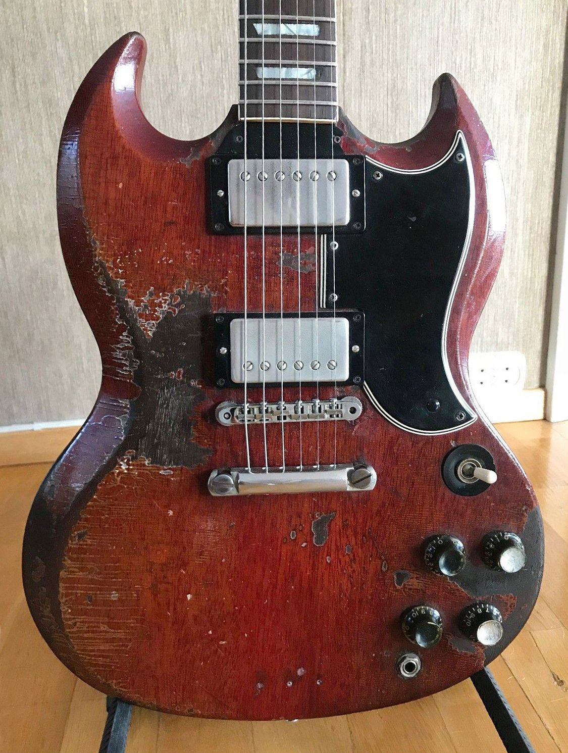 1961 Gibson Les Paul SG #gibsonguitars | guitars in 2019