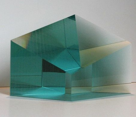 Myung-Ock Lim | A sacred solace III | teal green #1 (2007)
