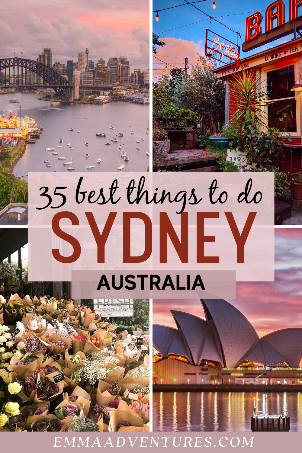 35 Of The Best Things To Do In Sydney Australia Sydney Travel Australia Travel Australian Travel