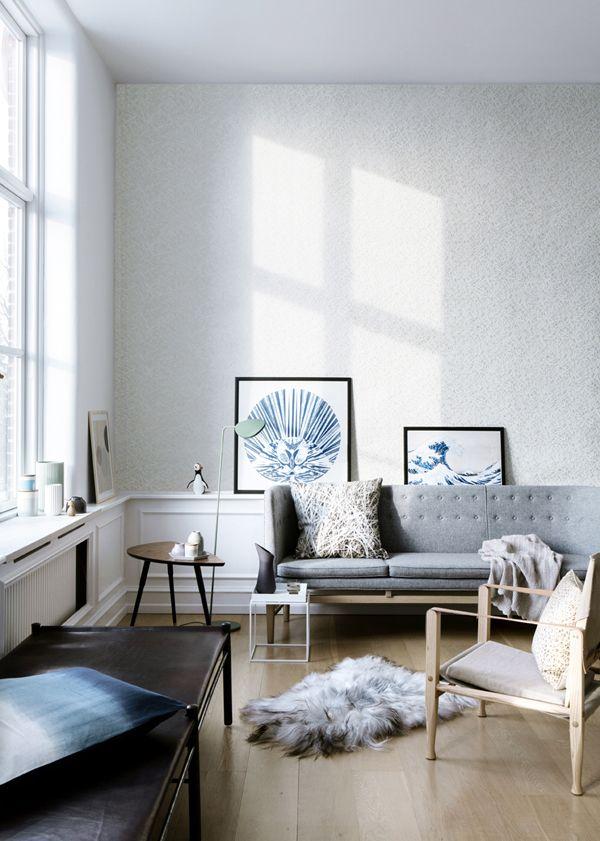 muuto leaf floor lamp in green muuto living room inspiration rh pinterest com