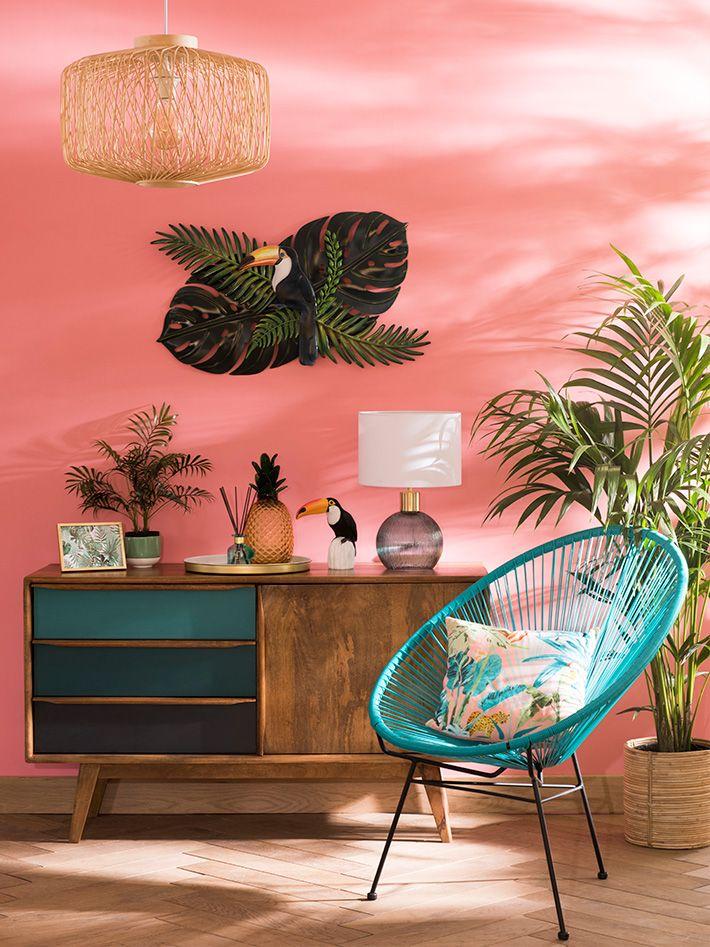Sweet Tropical decor trend Maisons du