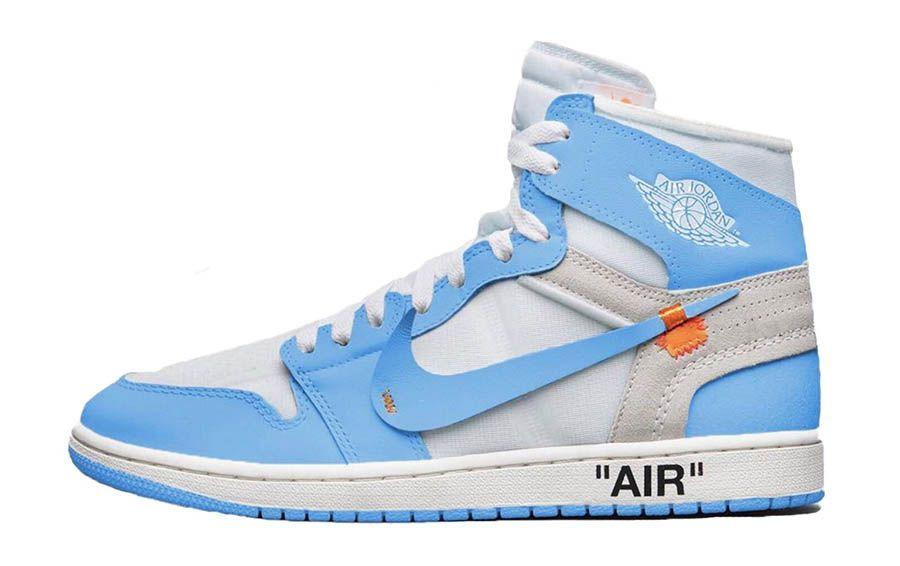 Off White X Air Jordan 1 UNC, Prix Et Sortie Finalement