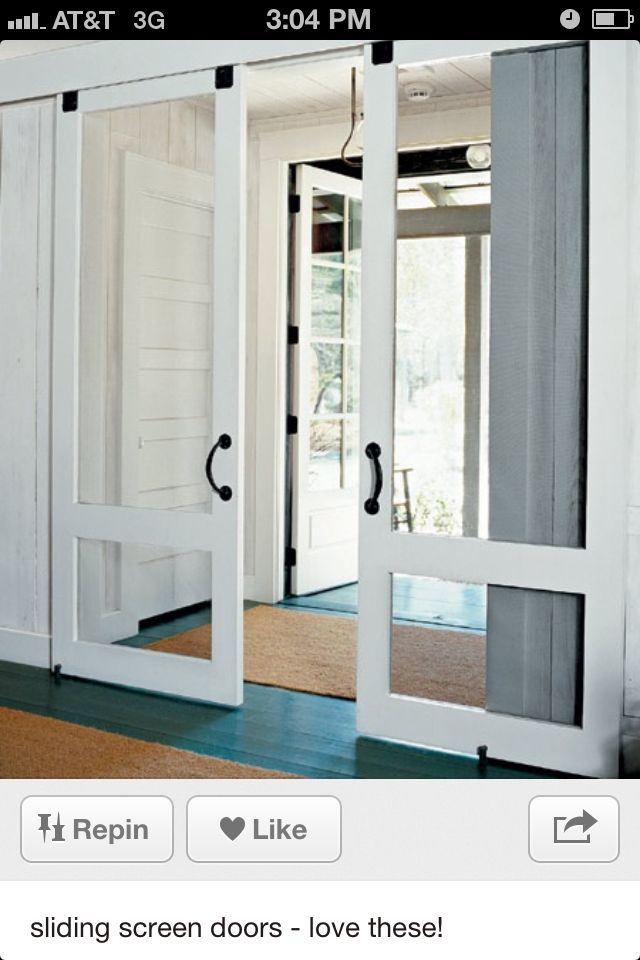 great doors no slam unique home features sliding screen doors rh pinterest com