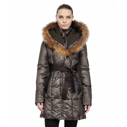RUDSAK. Parkas Sophie-2013 - KHAKI - P Pretty much the cutest coat I've ever seen. I just need to save up $445
