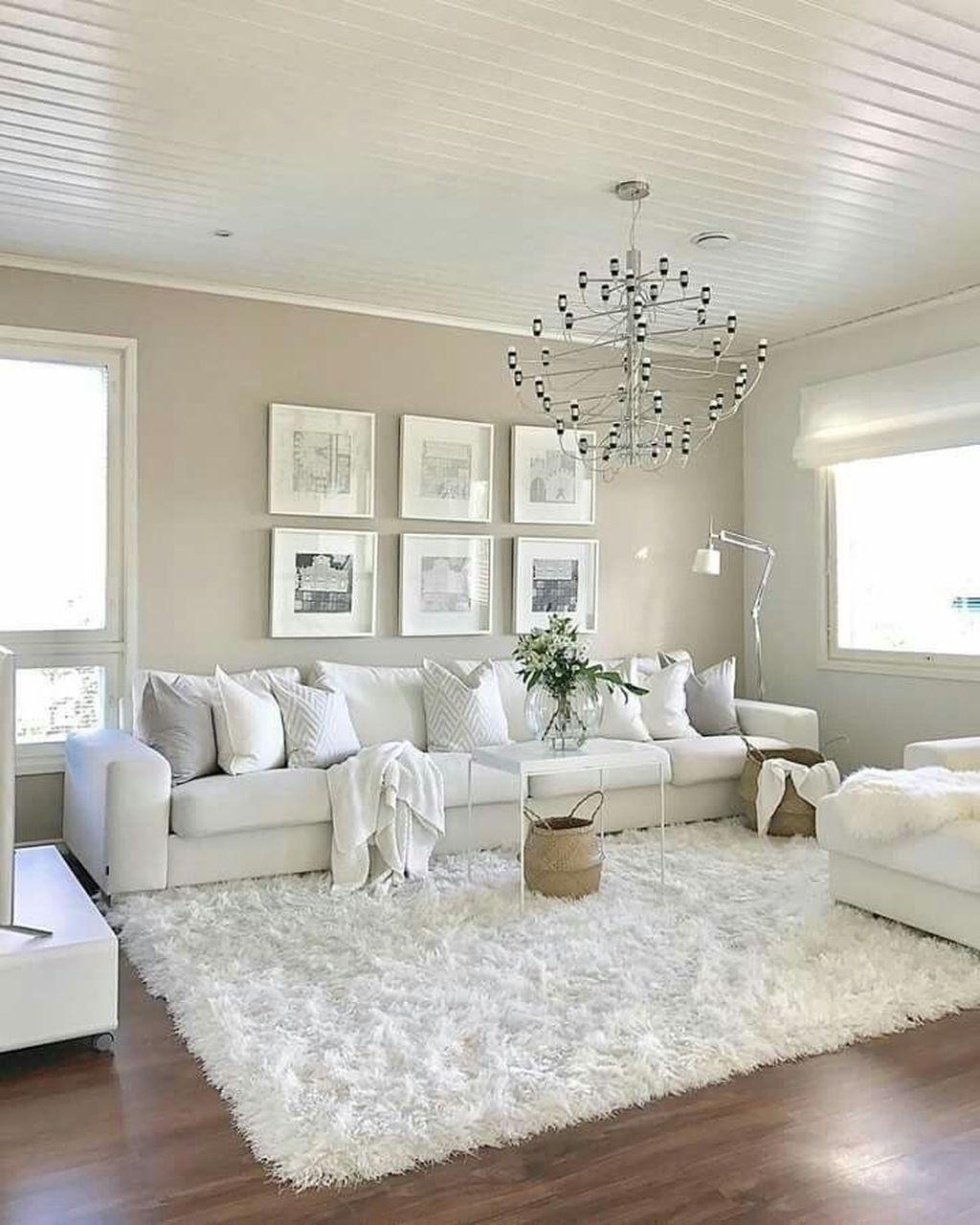 45 Modern White Living Room Design Ideas That Looks Amazing White Living Room Decor Elegant Living Room Decor Modern White Living Room White living room decor