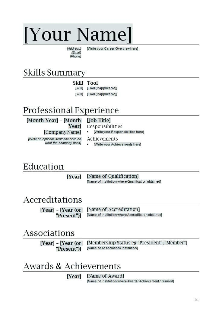 Resume Templates Basic Basic Job Resume Examples Resume F Website With Photo Galler In 2020 Job Resume Examples Downloadable Resume Template Minimalist Resume Template