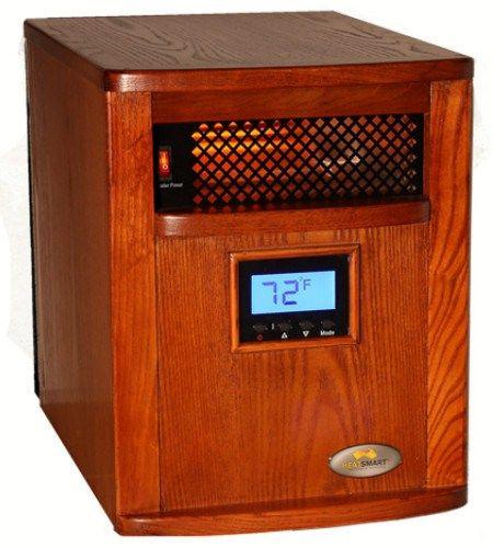 Heat Smart Ssg 1500 Cdw Kc Victory Infrared Heater Review Infrared Heater Heater Black Friday Tools