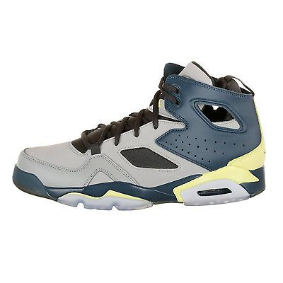 Nike Jordan Flight Club 91 Mens 555475 035 Silver Blue