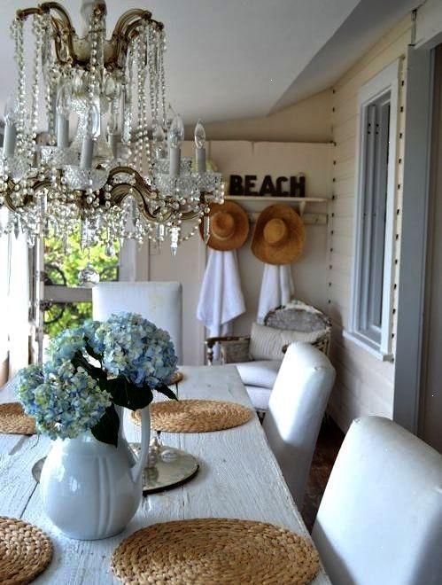 Shabby Chic Beach Cottage on Casey Key Florida Beach