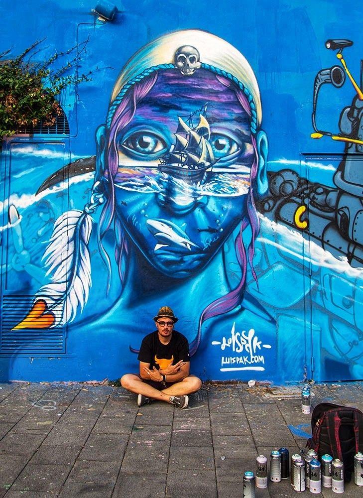 Luis Pak Street Art Street Art Graffiti Street Art Und Street