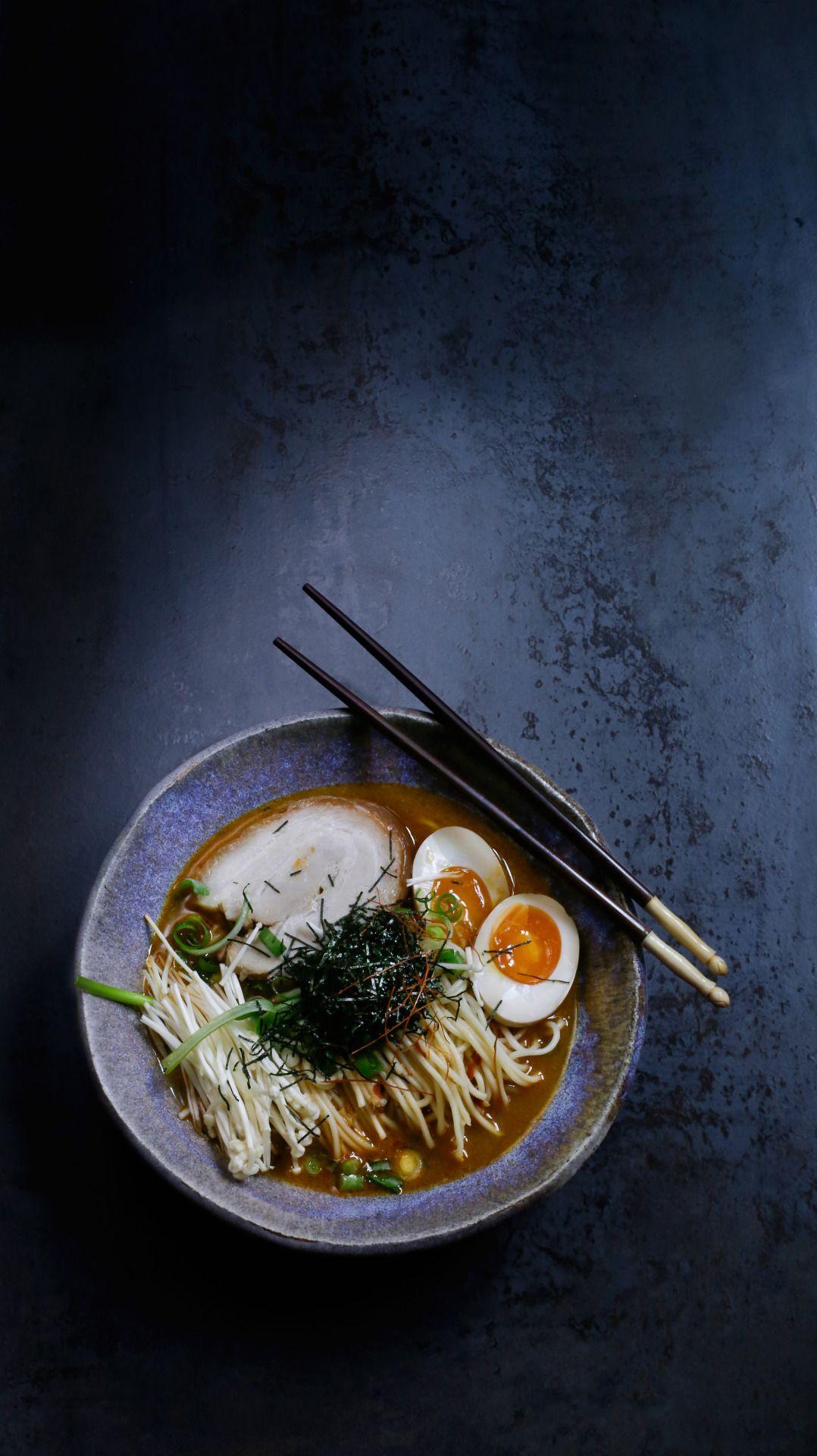 Miso ramen sapporo style japan pinte - Apprendre a cuisiner japonais ...