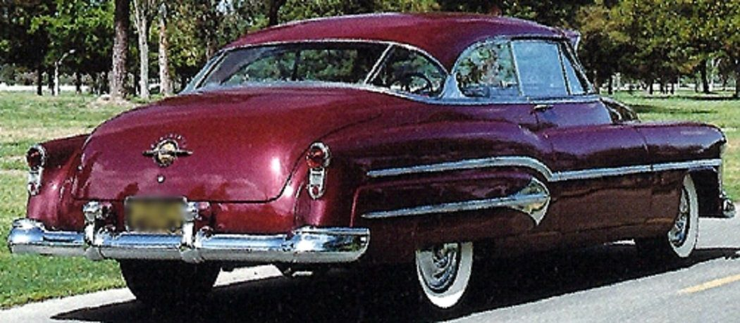 Oldsmobile H T Sedan Maroon Classic Gm Cars