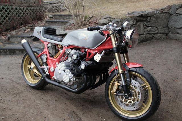 Nestors Honda CBX by Adams Custom Shop - found on Cafe Racer Culture