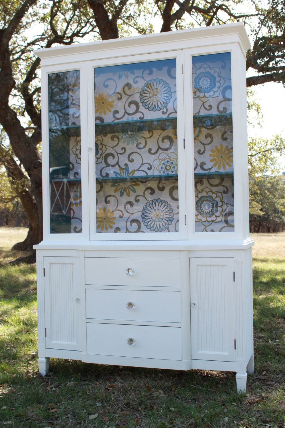 Best Modern Cottage Painted China Cabinet 775 00 Via Etsy 400 x 300
